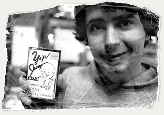 daniel holding cassette