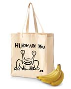 Hi How Are You MURAL Shopping Tote